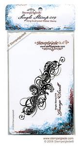 Bilde av Stempelglede - Single Stamp 019 - Grunge Scroll
