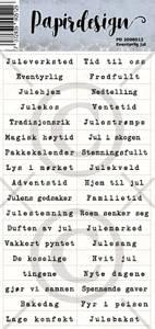 Bilde av Papirdesign - Klistremerker - 2000512 - Eventyrlig jul