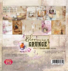 Bilde av Craft & You - BG30 - Blooming Grunge - 12x12 Paper Pad
