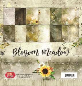 Bilde av Craft & You - BM30 - Blossom Meadow - 12x12 Paper Pad