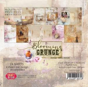 Bilde av Craft & You - BG15 - Blooming Grunge - 6x6 Paper Pad