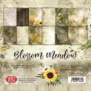 Bilde av Craft & You - BM15 - Blossom Meadow - 6x6 Paper Pad