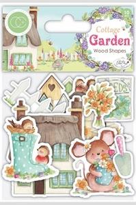 Bilde av Craft Consortium - Cottage Garden - Printed Wood Shapes