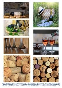 Bilde av Barto Design - Klippeark A4 - 067959 - Wine