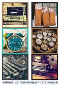 Bilde av Barto Design - Klippeark A4 - 069003 - Vintage things