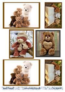 Bilde av Barto Design - Klippeark A4 - 069099 - Teddy