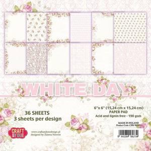 Bilde av Craft & You - WD15 - White Day - 6x6 Paper Pad