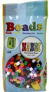 Bilde av Perler Midi - Nabbi Beads - Standard farger - 1100stk