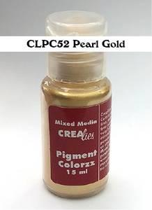 Bilde av Crealies - Pigment Colorzz - 52 Pearl Gold