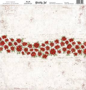 Bilde av Papirdesign PD16222 - Gledelig jul - Julens røde blomster