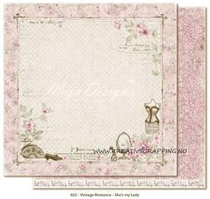 Bilde av Maja Design - 822 - VINTAGE ROMANCE - SHES MY LADY