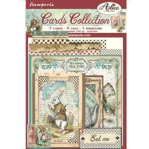 Bilde av Stamperia - Cards Collection - Alice In Wonderland
