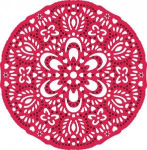Bilde av Cheery Lynn Designs - DL107 - Doily Waltzing Matilda Lace
