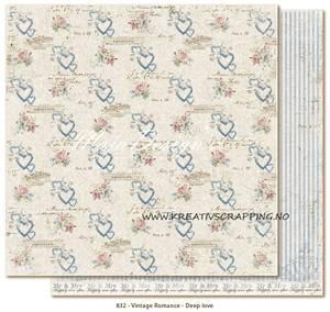 Bilde av Maja Design - 832 - VINTAGE ROMANCE - DEEP LOVE