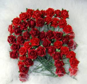 Bilde av Papirdesign - Roser - 1,0cm - Rød