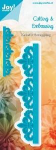 Bilde av Joy Crafts - 6002-0256 - Die - Noor D - Border French Lilies