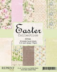 Bilde av Reprint - 6x6 - RPP048 - Easter Collection pack