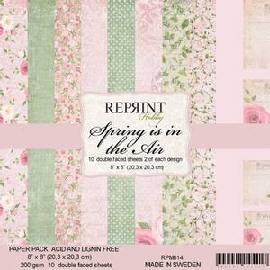 Bilde av Reprint - 8x8 - RPM014 - Spring is in the Air Collection pack