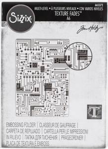 Bilde av Sizzix - 3-D Texture Fades - A6 - 665372 - Circuit