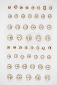 Bilde av Kort & Godt - Stickers - BE102 - Perle - 6-12mm - Gull