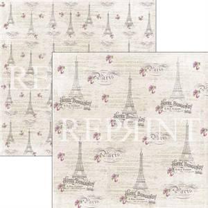 Bilde av Reprint - 12x12 - RP0272 - Lilac Paris Collection - Paris