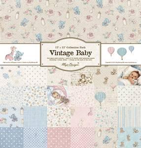 Bilde av Maja Design - 1172 - Vintage Baby - 12x12 Paper Pack