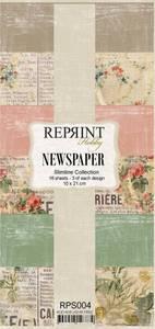 Bilde av Reprint - Slimline Paper Pack - RPS004 - Newspaper