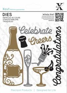 Bilde av Xcut dies - XCU 503284 - Champagne Celebration
