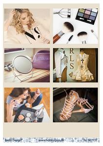 Bilde av Barto Design - Klippeark A4 - 067731 - Fasion & Make up