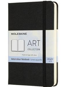 Bilde av Moleskine - Art Collection - Watercolor Notebook - Pocket - 200g