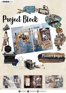 Bilde av Studiolight - Project block A4 - Planner Pages - Artist