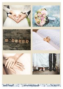 Bilde av Barto Design - Klippeark A4 - 067755 - Married
