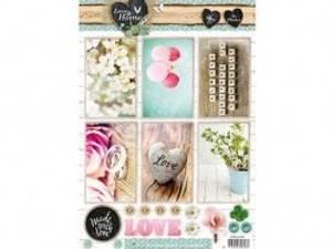 Bilde av Studiolight - Utstanset STAPLH1360 - Love & Home photos