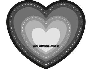 Bilde av Marianne Design - Craftables dies - CR1351 - HEART