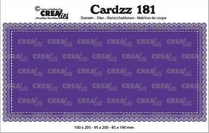 Bilde av Crealies - Dies - Cardzz 181 - Slimline A
