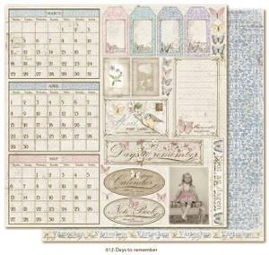 Bilde av Maja Design - VINTAGE SPRING BASICS 612 - DAYS TO REMEMBER