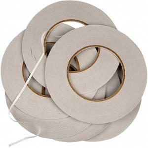Bilde av Dobbeltsidig tape - 6 mm x 50 meter - pakke med 6 stk ruller
