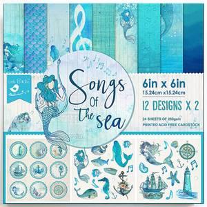 Bilde av Little Birdie - 6x6 Paper Pack - Songs Of The Sea