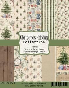 Bilde av Reprint - 6x6 - RPP042 - Christmas Holiday Collection pack