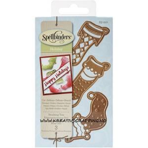 Bilde av Spellbinders - S3-221 - Shapeabilities - Stocking Trio