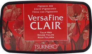 Bilde av Tsukineko - VersaFine CLAIR - Ink Pad - 702 - Tulip Red