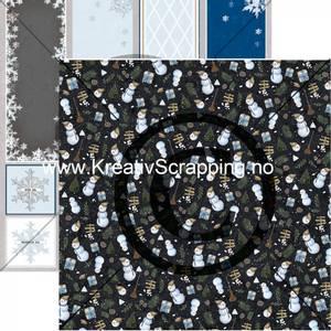 Bilde av Papirdesign 2100712 - Det kimer nå til julefest - Kallemann