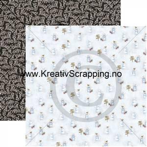 Bilde av Papirdesign 2100713 Det kimer nå til julefest - Snømannen Kalle