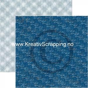 Bilde av Papirdesign 2100715 - Det kimer nå til julefest - Himmel blå