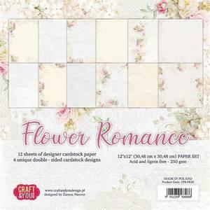 Bilde av Craft & You - FR30 - Flower Romance - 12x12 Paper Pad