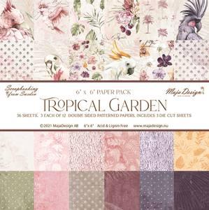 Bilde av Maja Design - 1163 - Tropical Garden - 6x6 Paper Pack