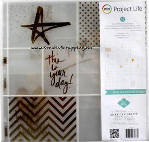 Bilde av Project Life - 98178 - Photo Pocket Pages - HEIDI SWAPP GOLD