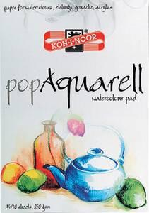 Bilde av Koh-i-noor - Pop Aquarell - A3 - Akvarellblokk - 10ark - 250g