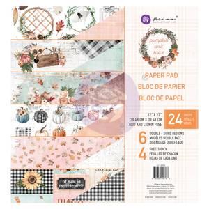 Bilde av Prima - 647766 - 12x12 Paper Pad - Pumpkin & Spice