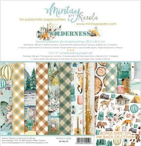 Bilde av Mintay - WIL - 12x12 Paper Set - Wilderness